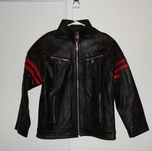 Authentic Mexican Motorcycle Leather Jacket